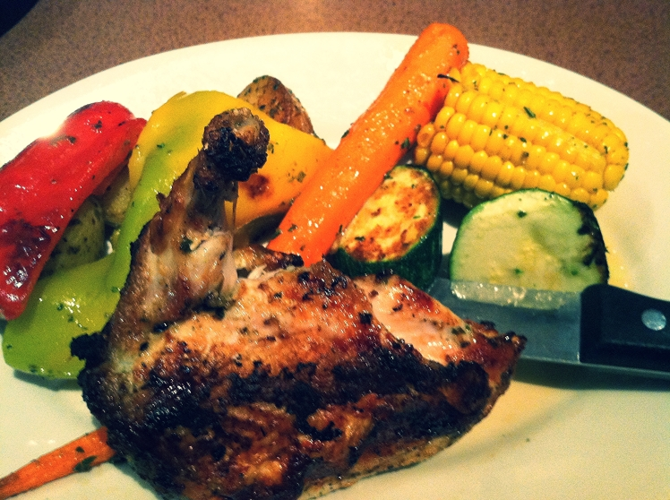 Roasted Chicken with veggies